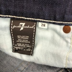 7 For All Mankind Jeans - 7 for all mankind flare trouser jeans 28x30